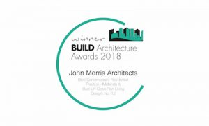 BUILD Architecture Awards 2018 winner John Morris Architects