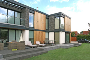 Modern House designed by John Morris Architects
