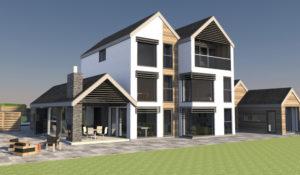 John Morris Architects Wingfield Road Design New Build Nottingham
