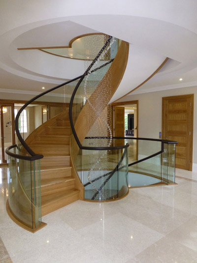 St Georges Hill – Bespoke Staircase Design
